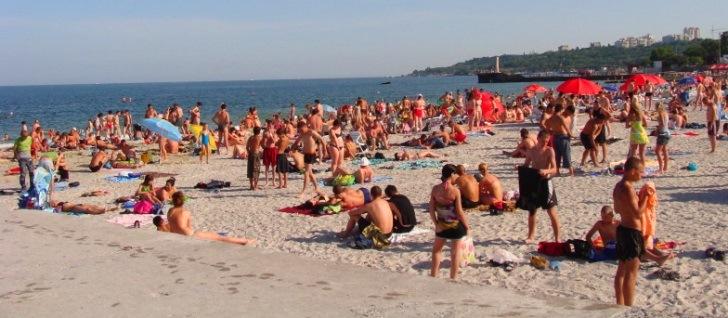 Загорание на пляжах