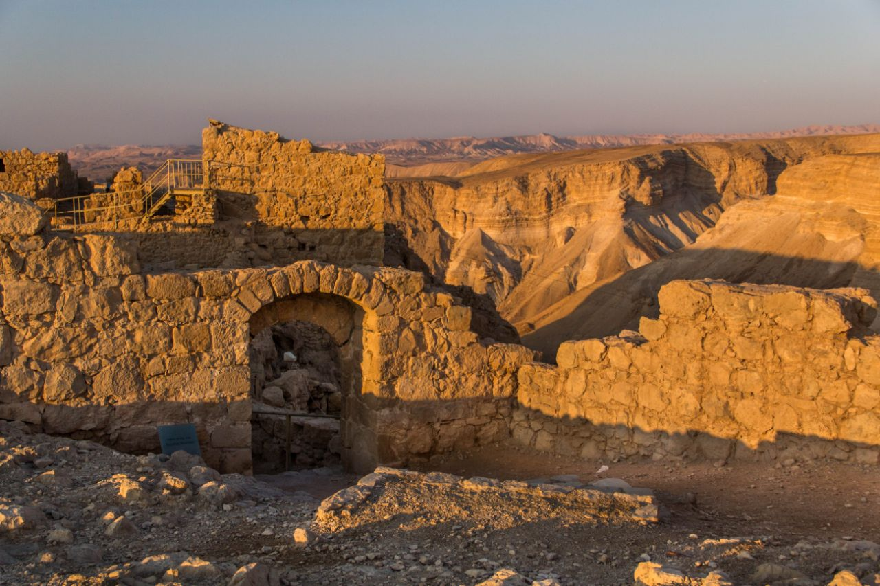Фото крепости Масада