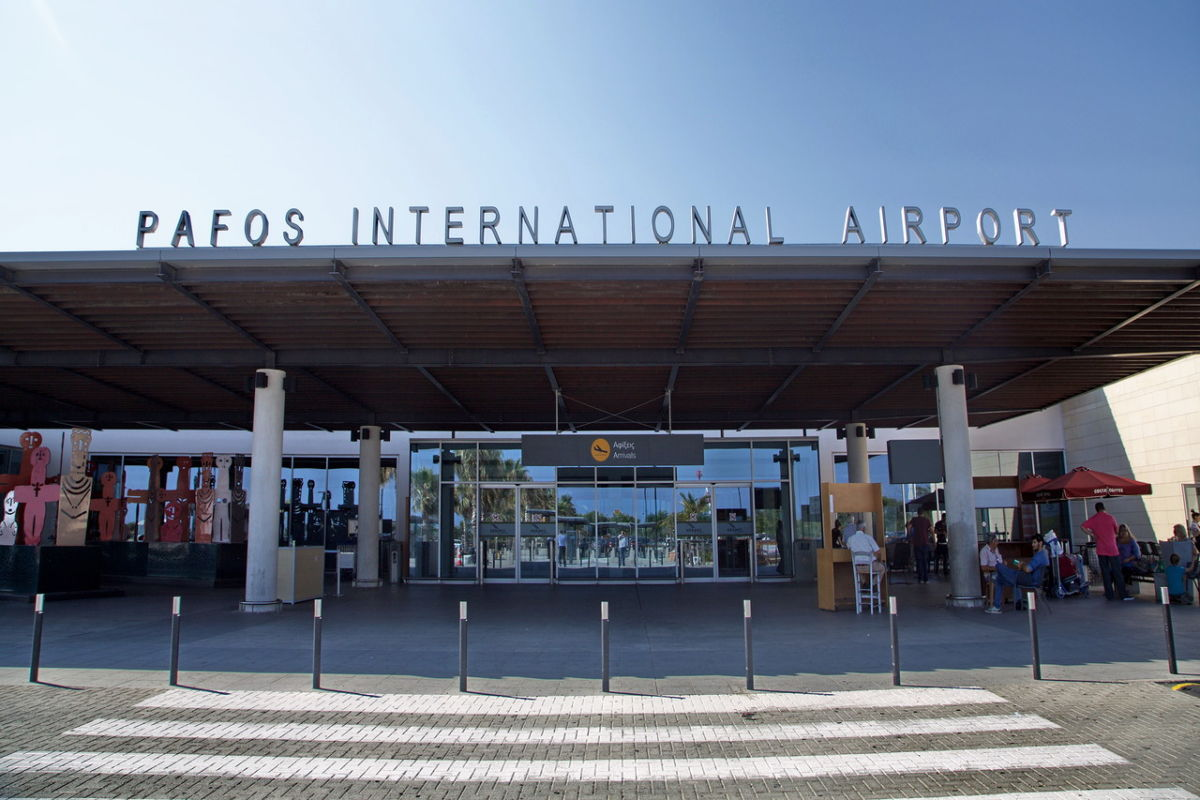 Фото аэропорта Пафоса