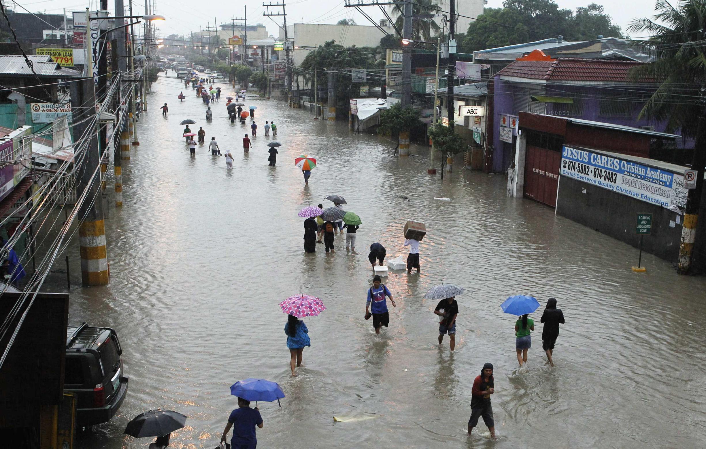 Дождь на Филиппинах