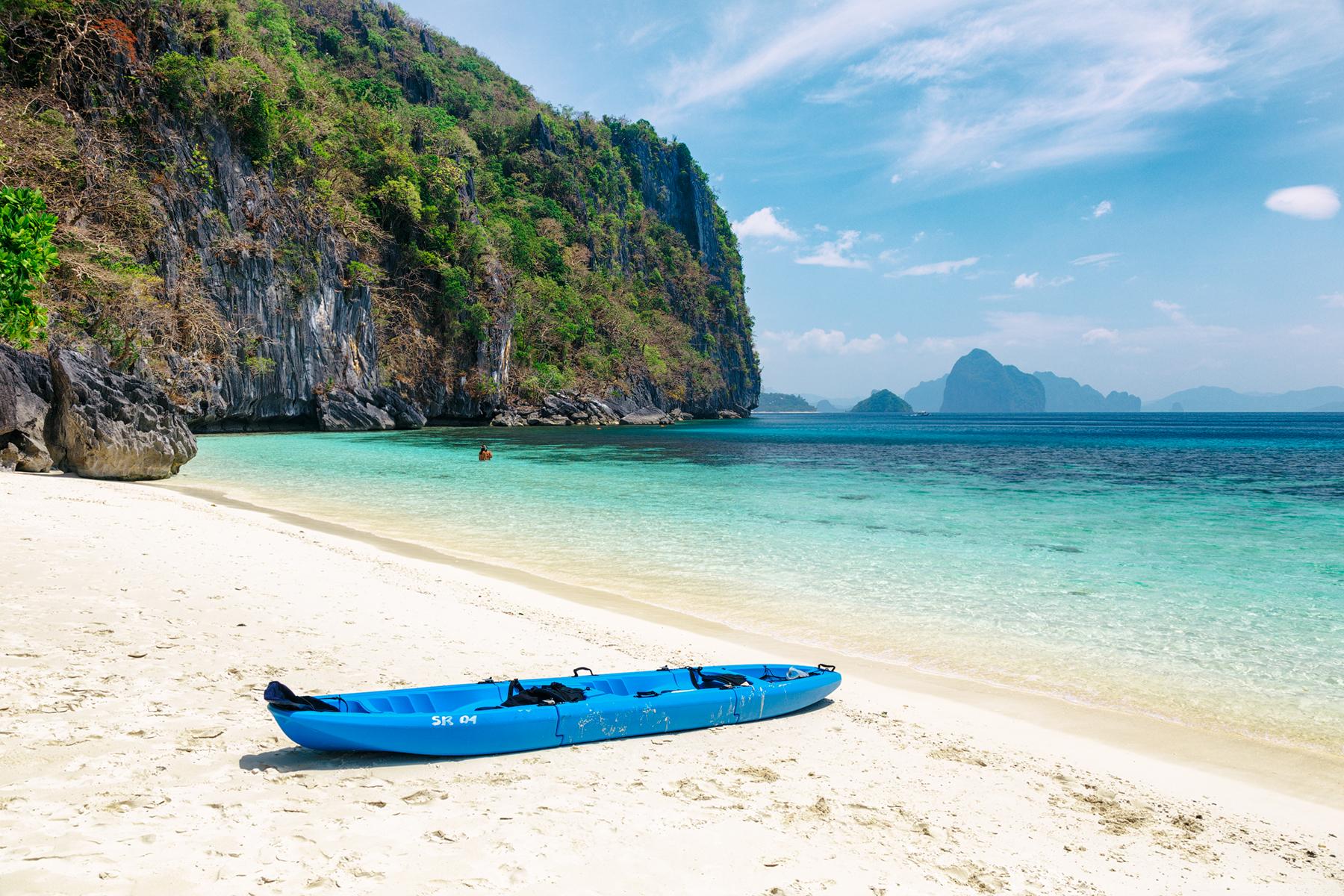 Фото пляжа на Филиппинах