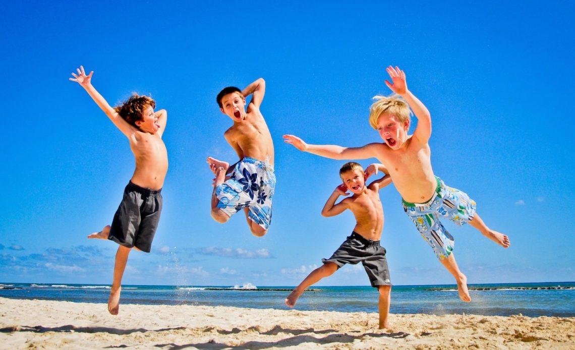 Фото детей на отдыхе