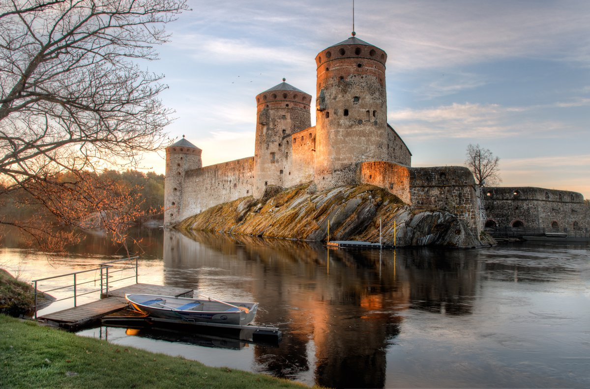 Фото крепости Олафсборг