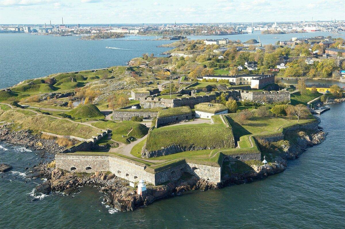 Фото крепости Свеаборг