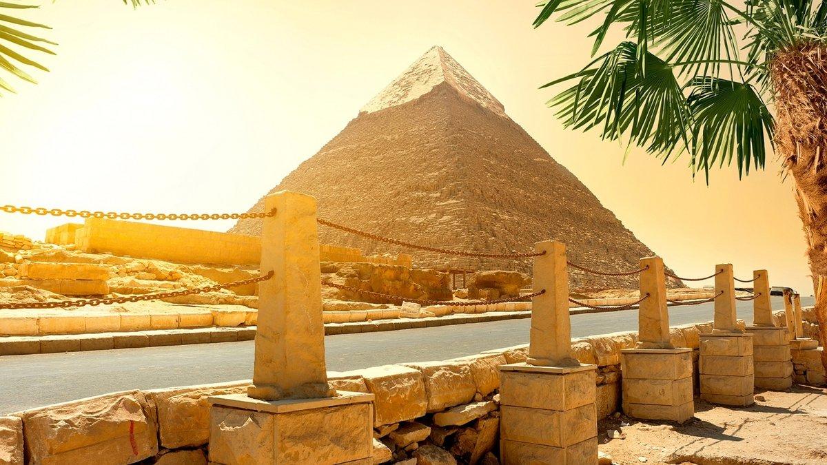 Фото Египта осенью