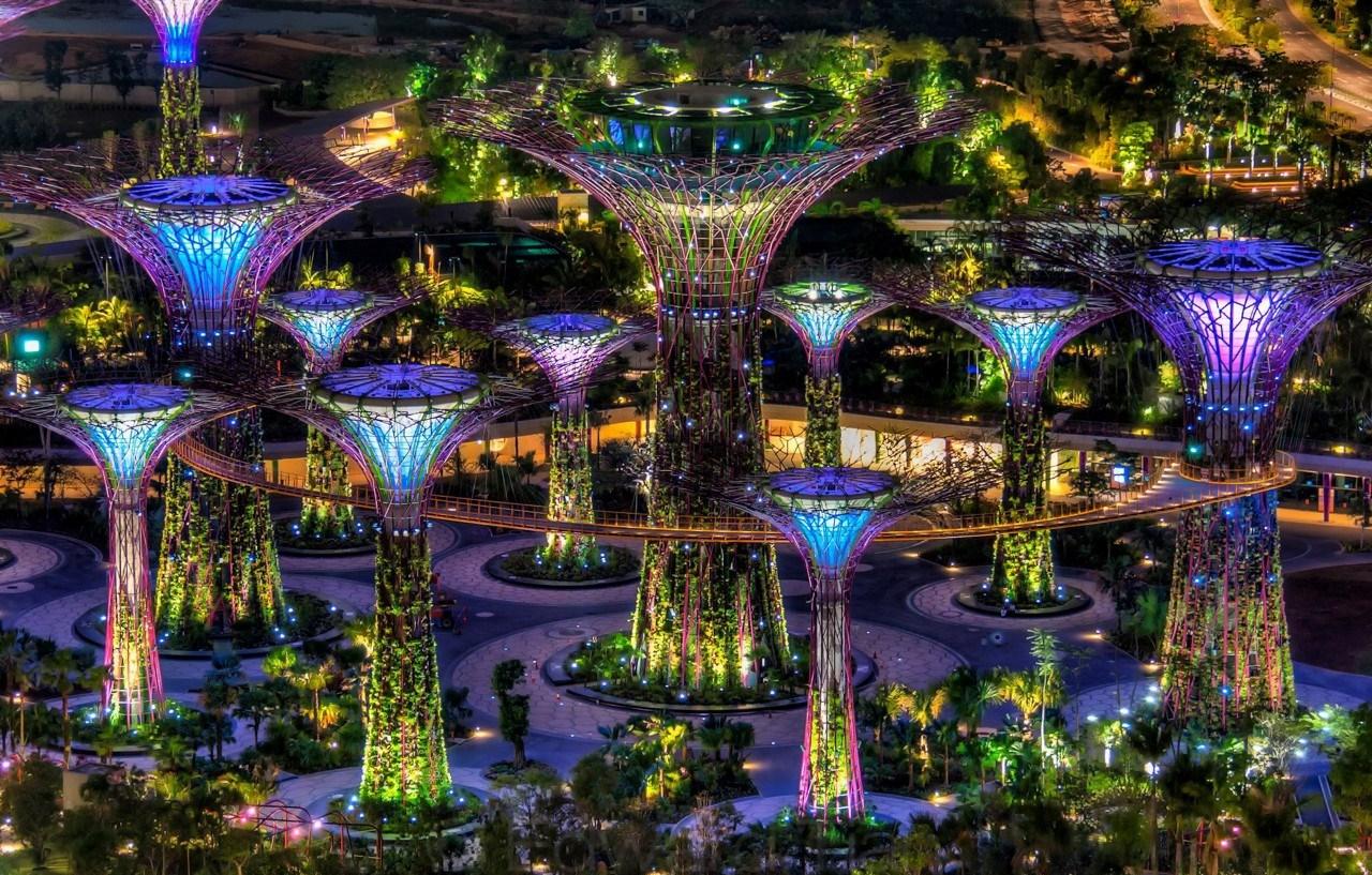 Фото живописных садов