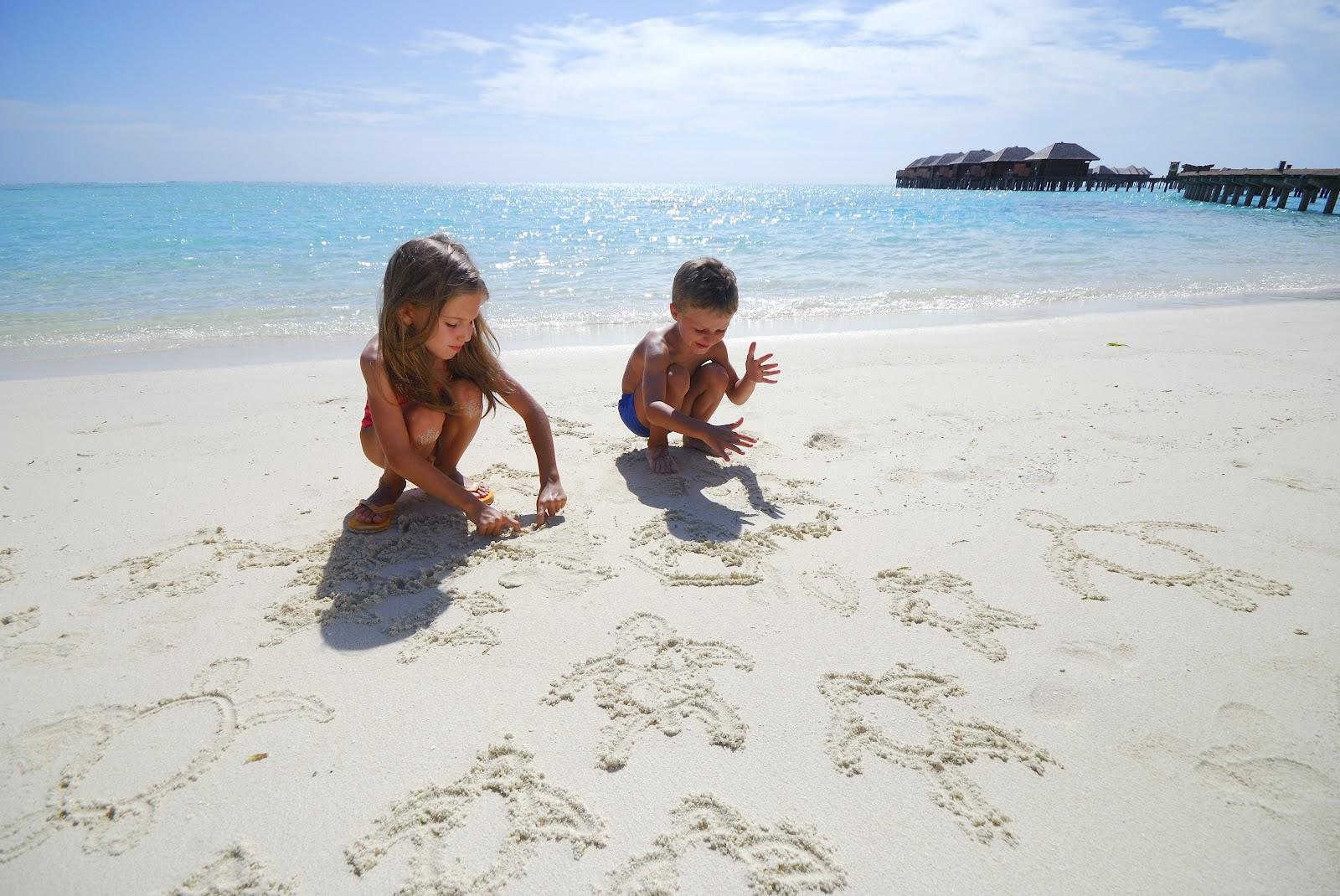 Фото детей на Мальдивах