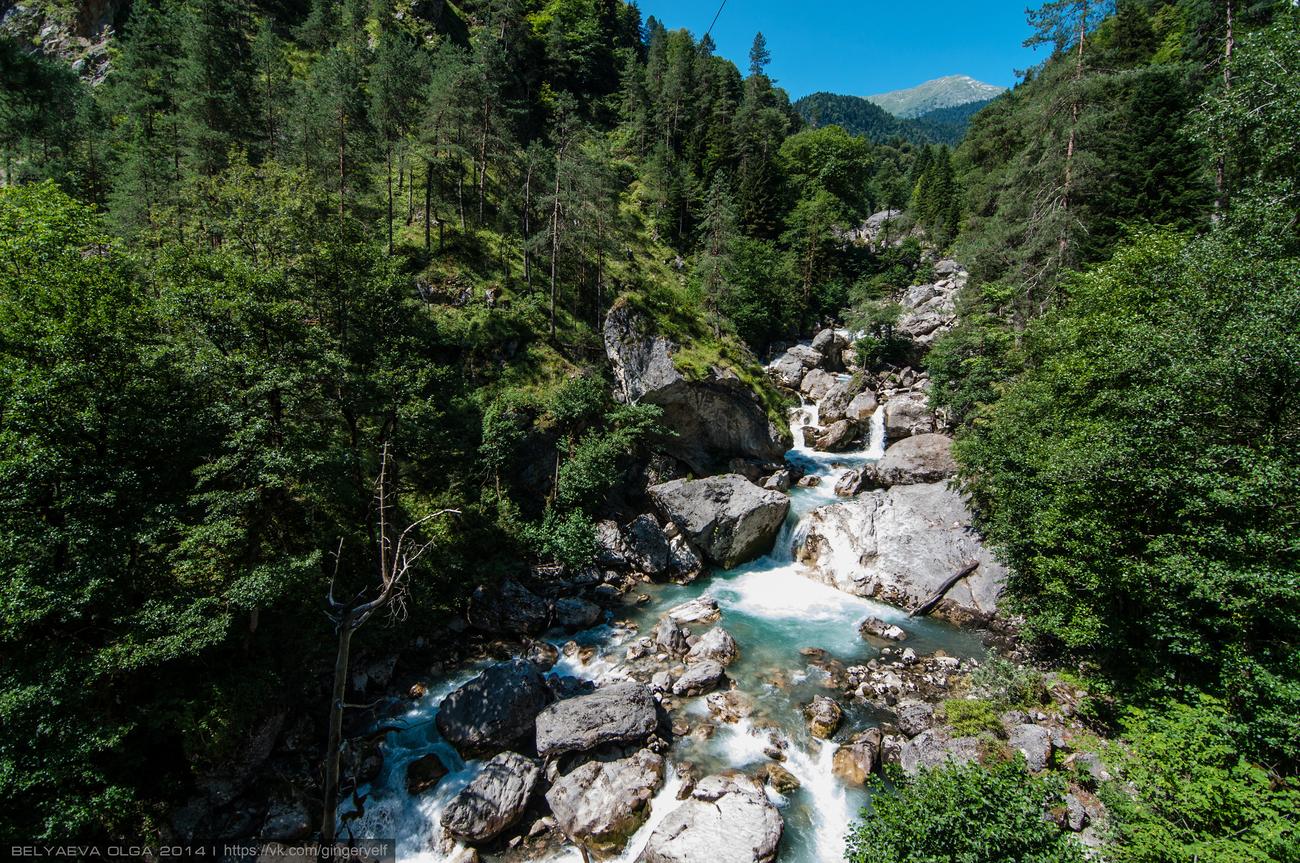 Фото Молочного водопада