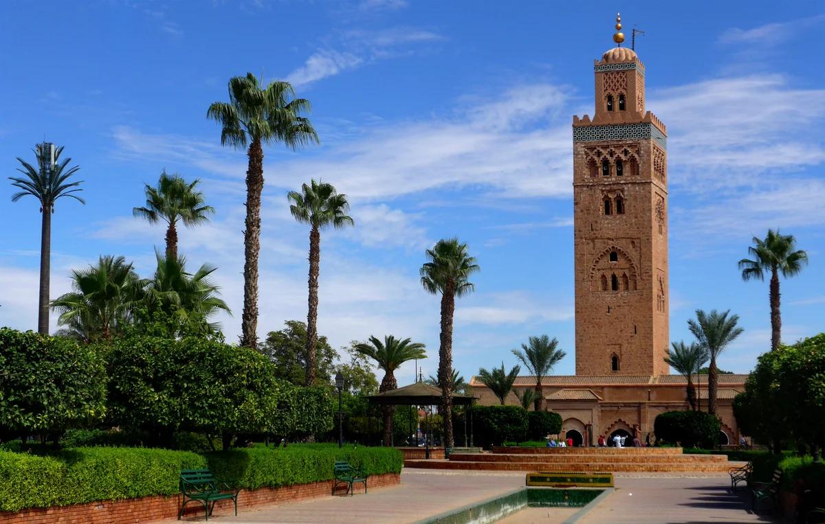 Любопытная мечеть Кутубия