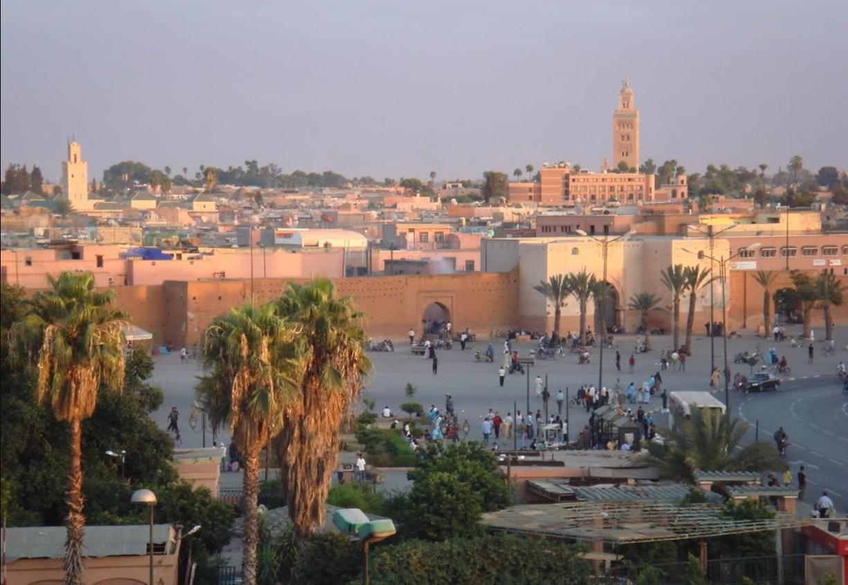 Исторический город Марракеш