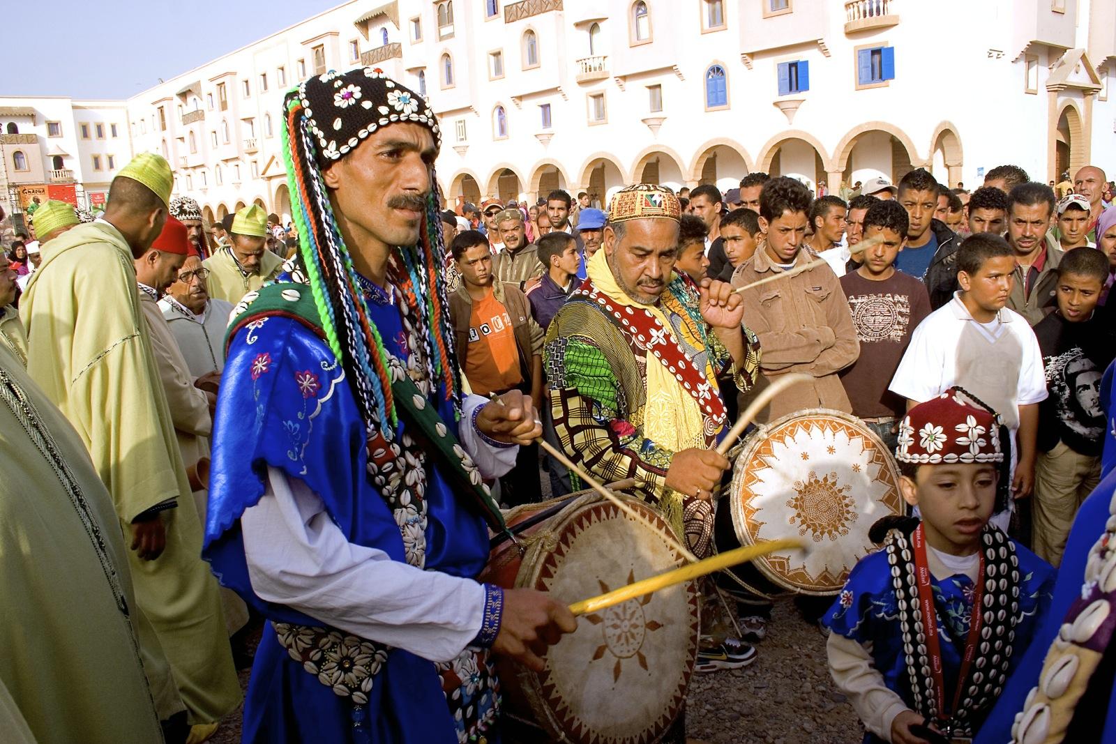 Удивительное население Марокко