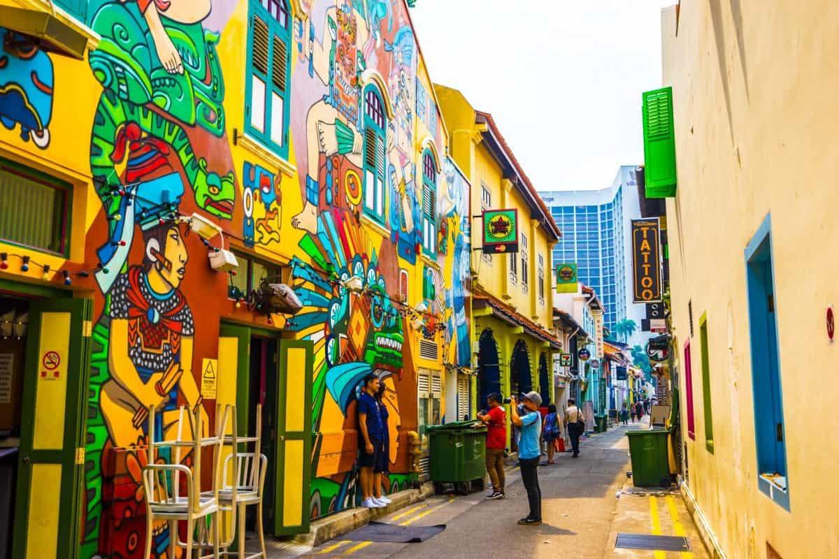 Арабская улица в Сингапуре