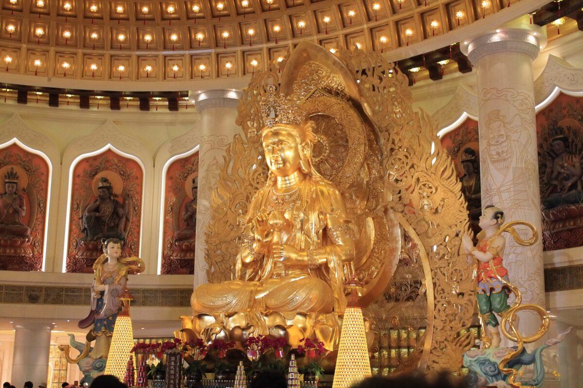 Святой храм богини Гуаньинь