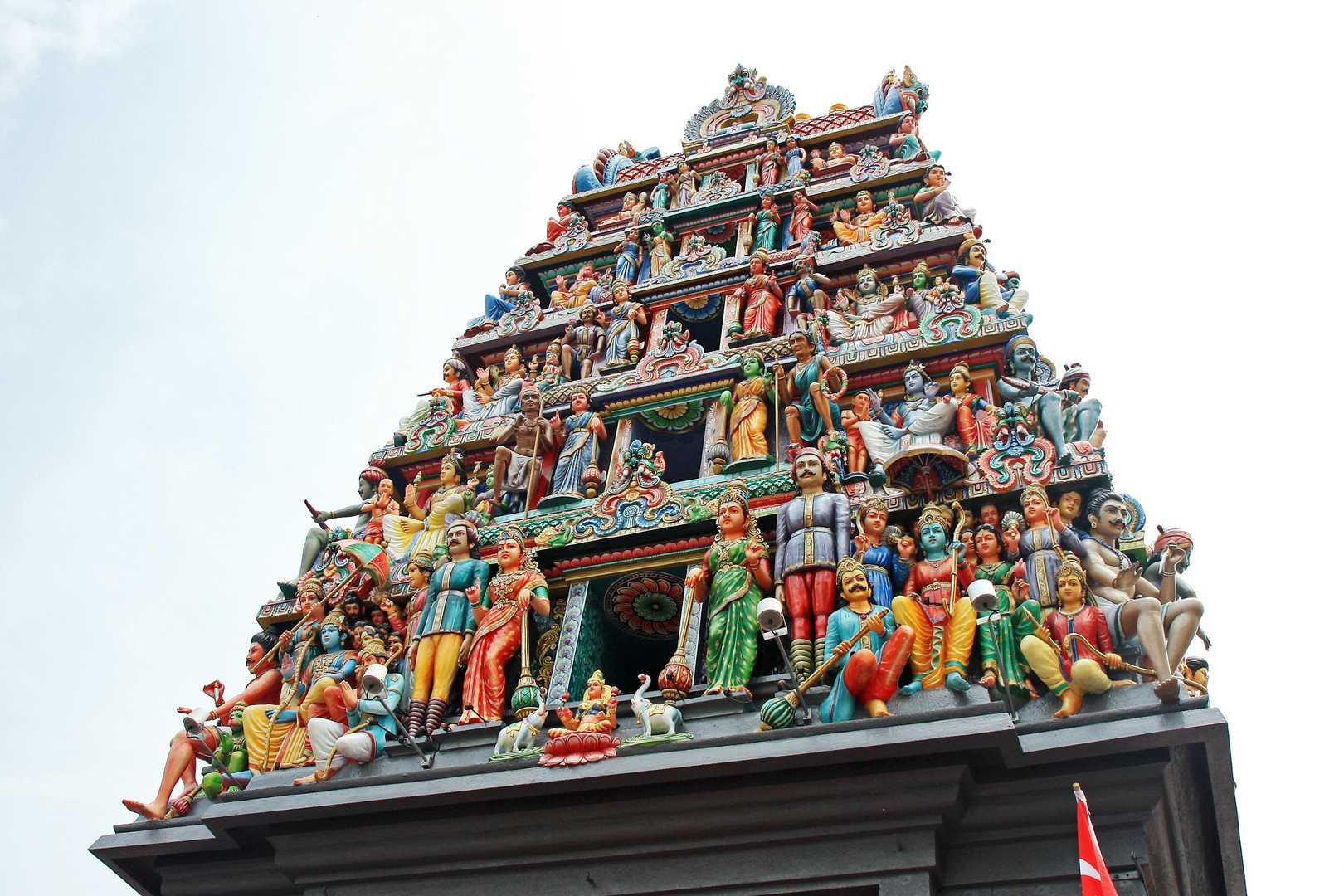 Оригинальный храмШриМариамман