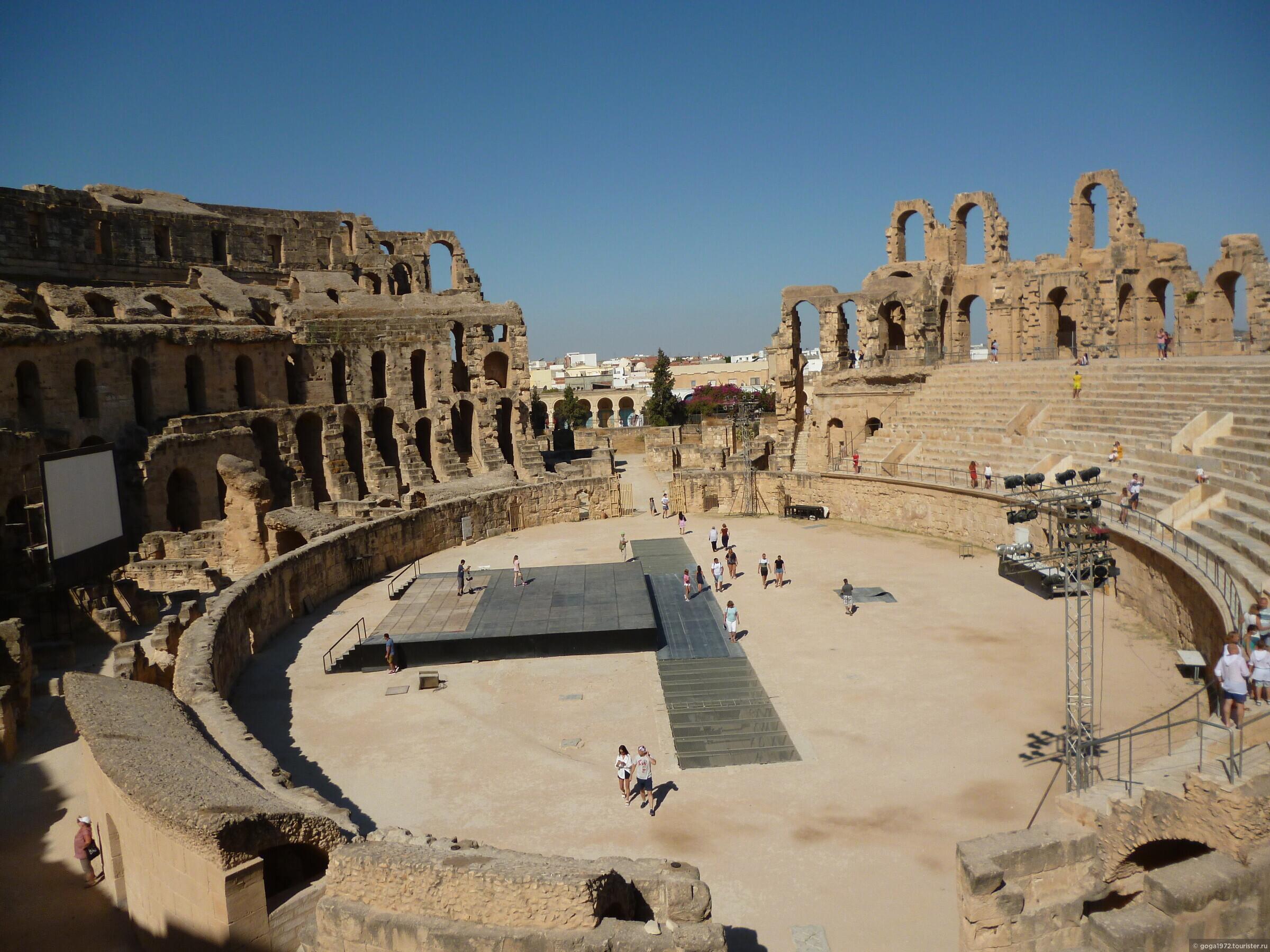 Древние руины Туниса