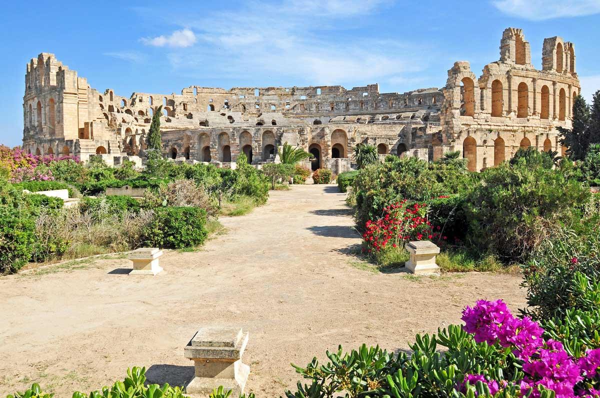 Красивое место Туниса