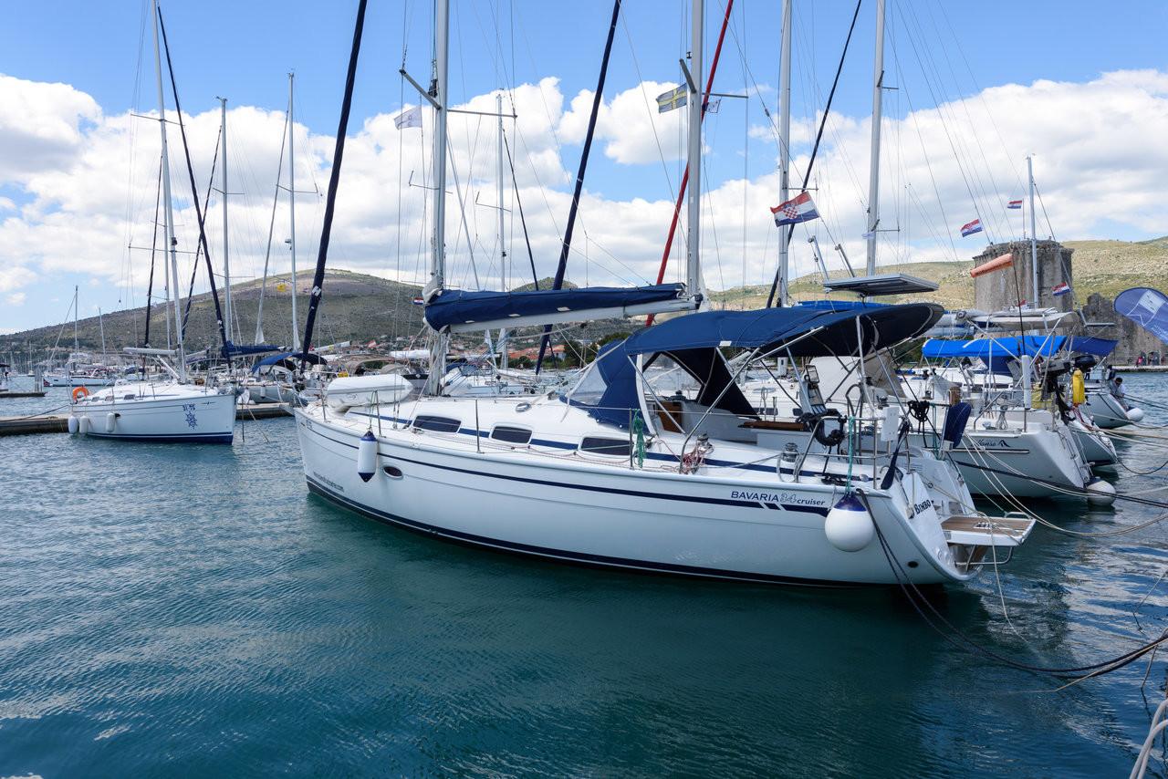 Фото яхты в Хорватии
