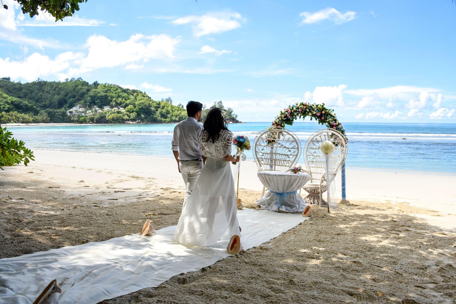 Свадебный сезон на Сейшелах