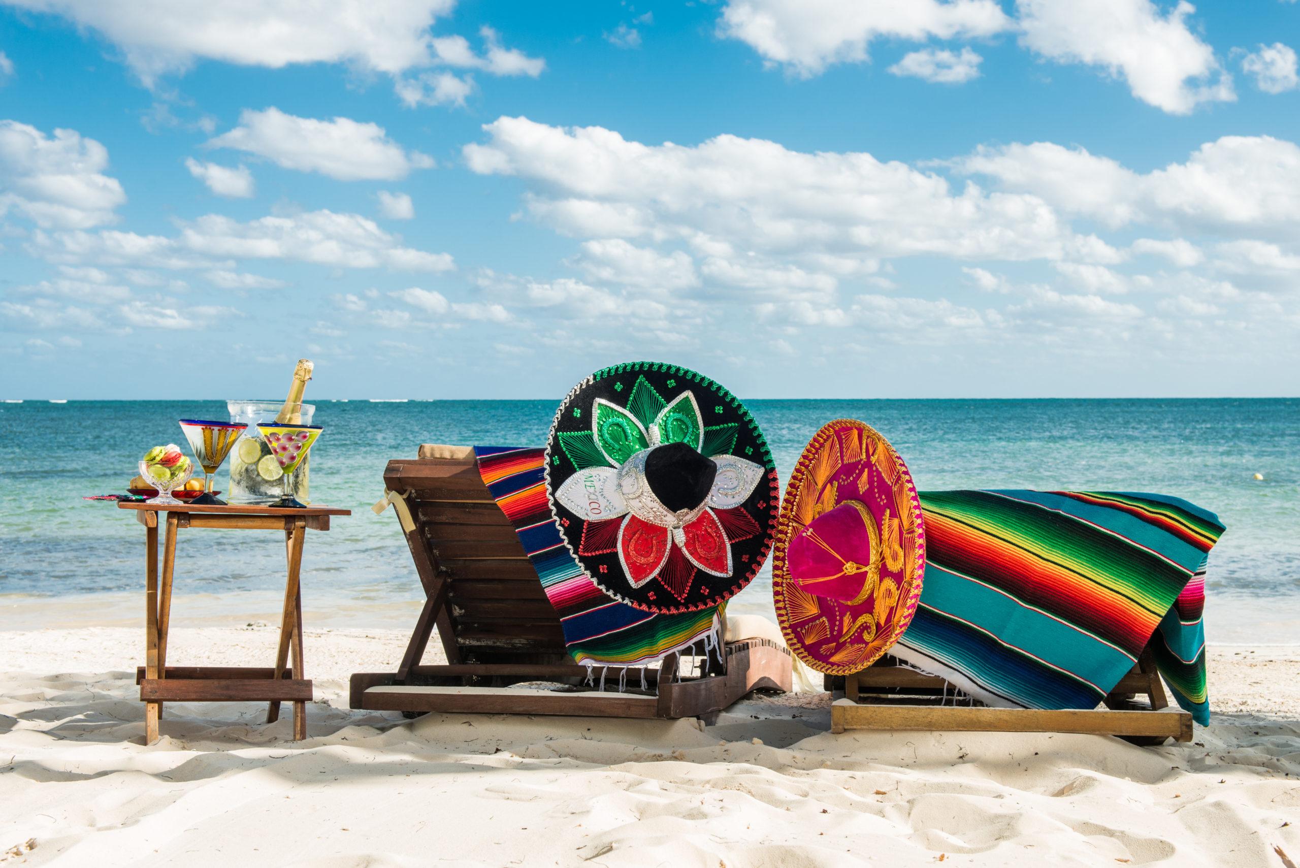 Живописные пляжи Доминиканы и Мексики