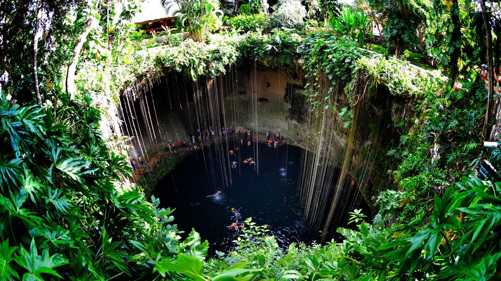 На фото изображён Юкатан