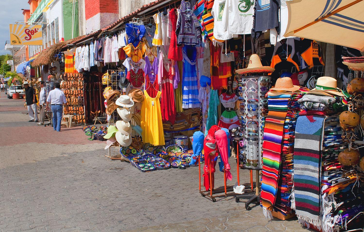 Ассортимент товаров на рынках Доминиканы и Мексики