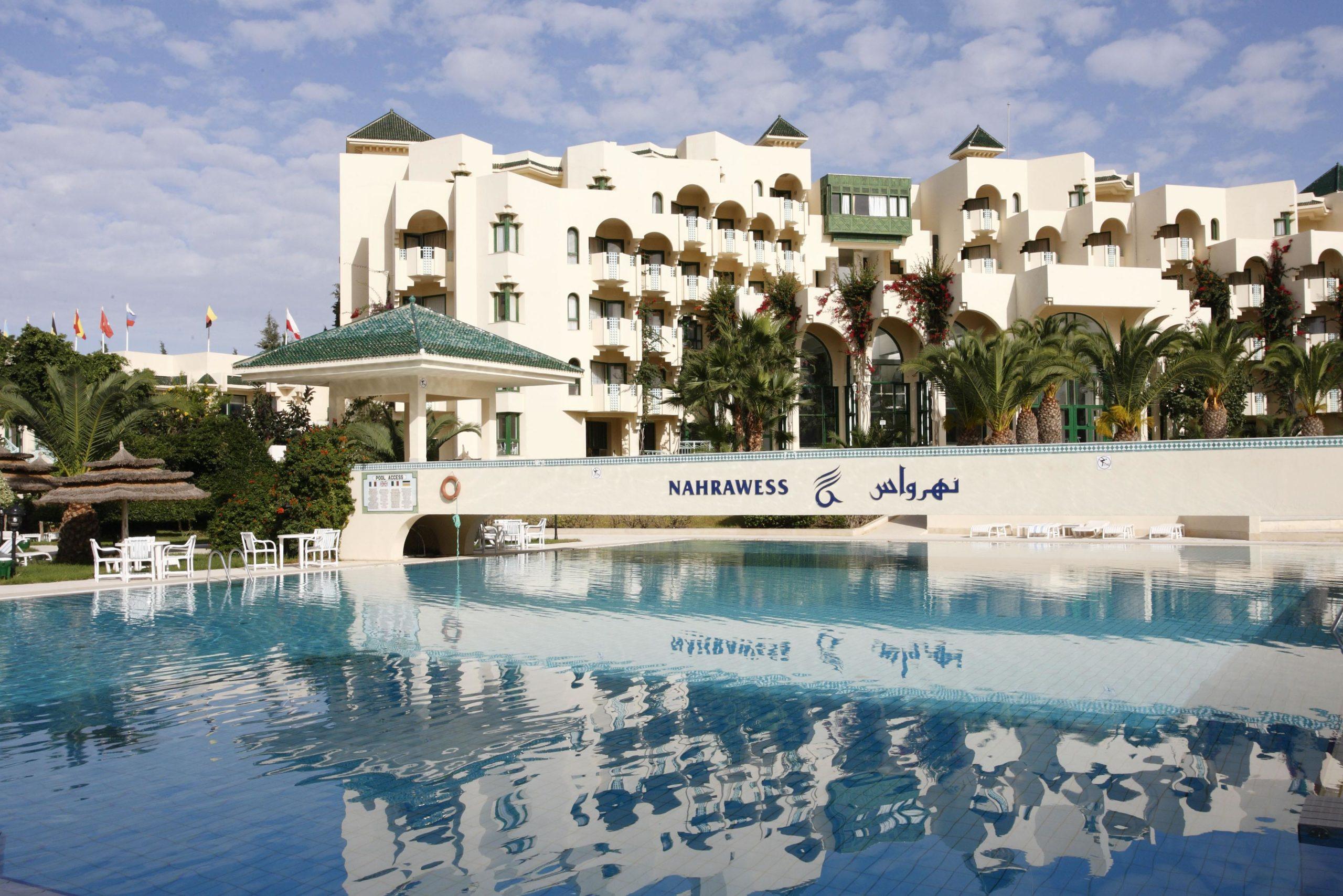На фото отель Нахравесс 4*, Хаммамет