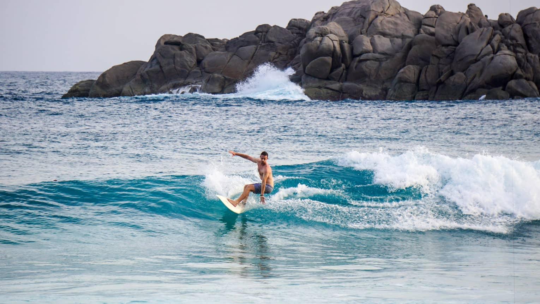 Сезон серфинга на Сейшелах