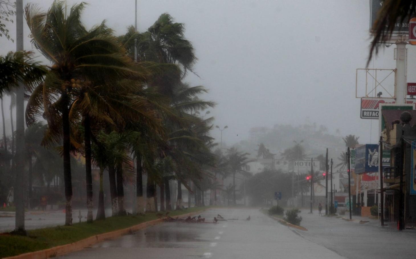 Сезон дождей в Мексике