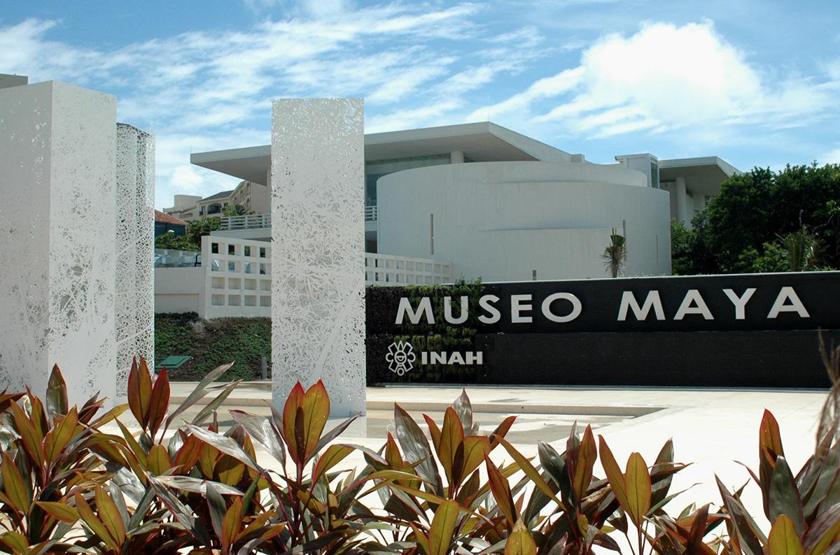 Так выглядит вход в музей Майя