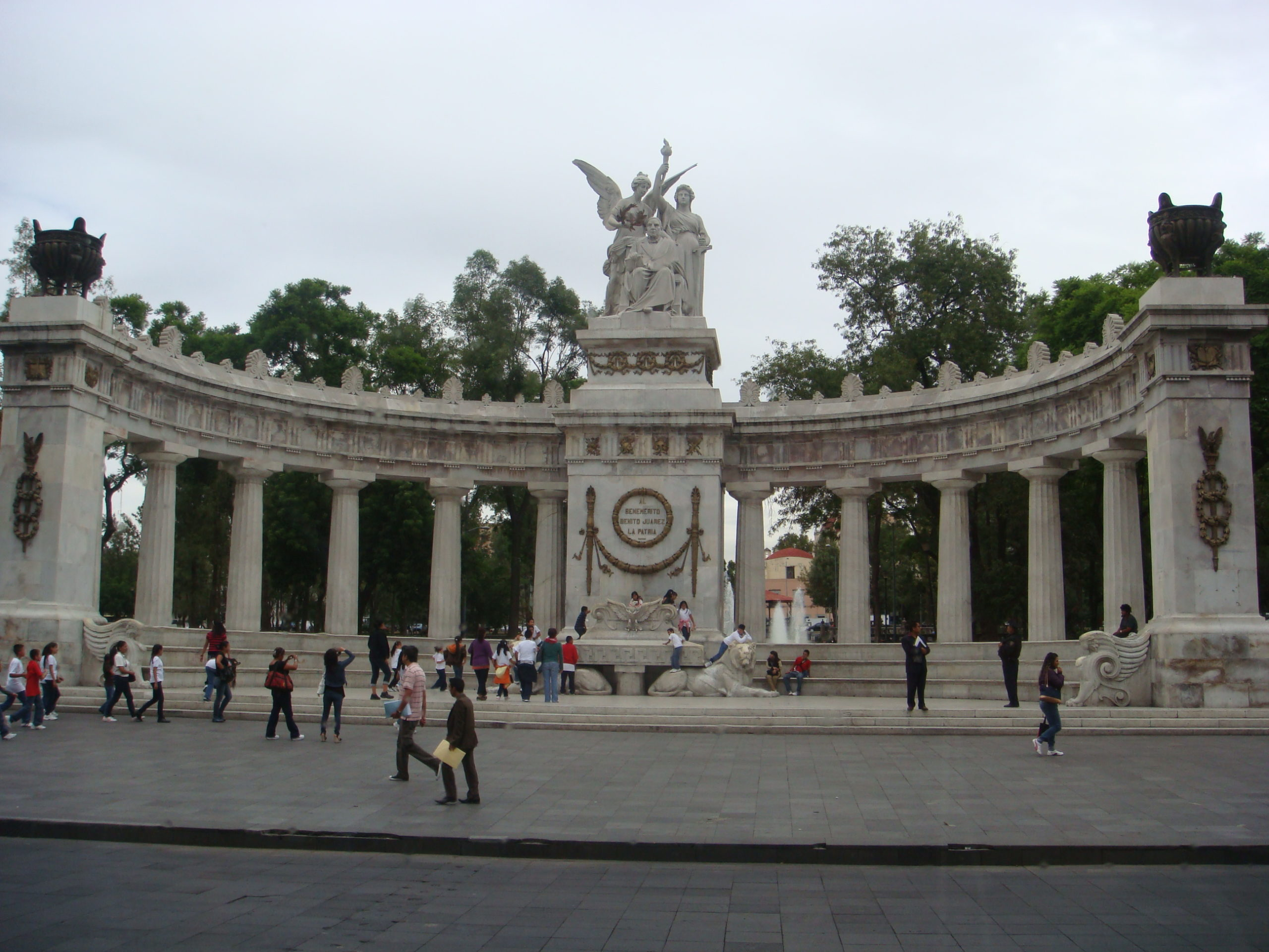 На фото парк Аламеда Сентраль