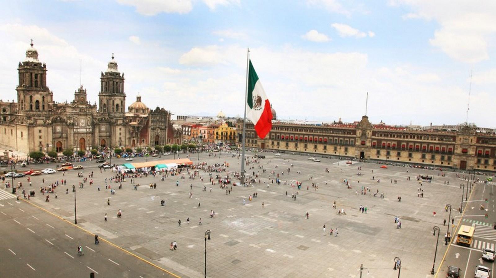 На фото площадь Конституции