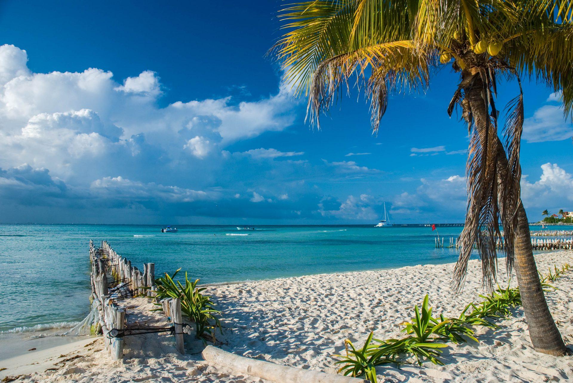 Ласковое и приветливое Карибское море