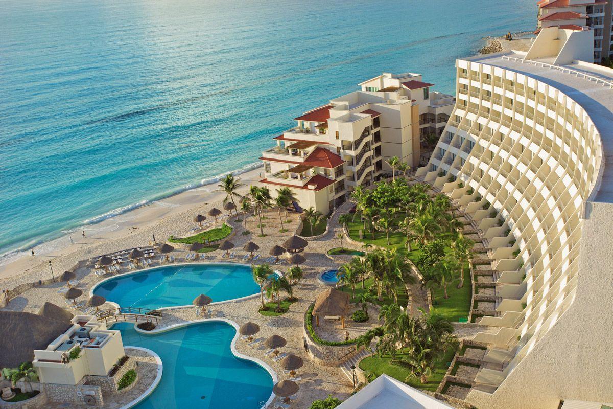 Отели разного уровня в Мексике и Доминикане