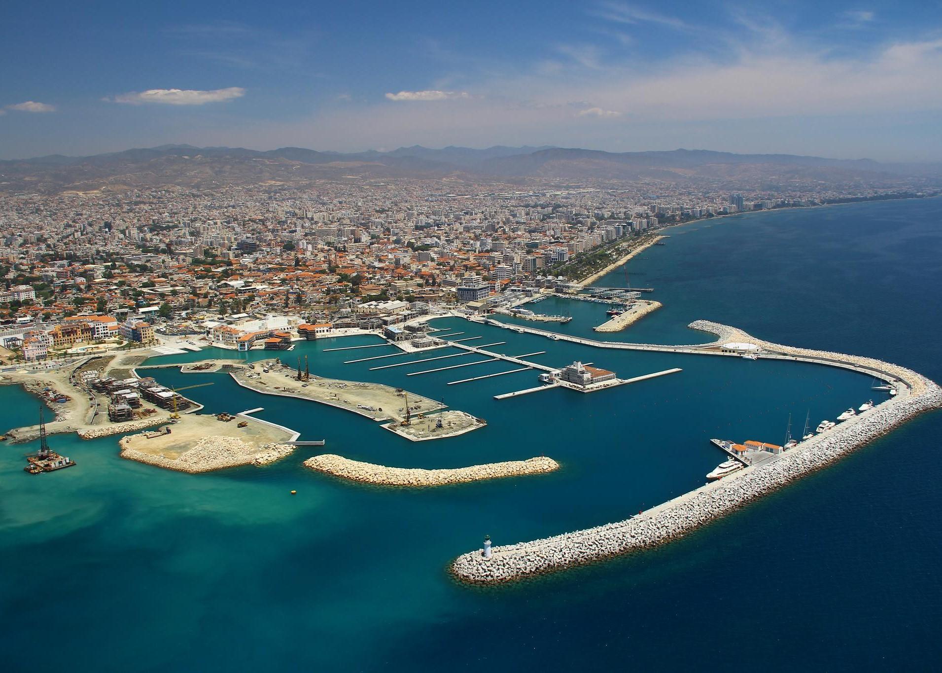 Города на острове Кипр