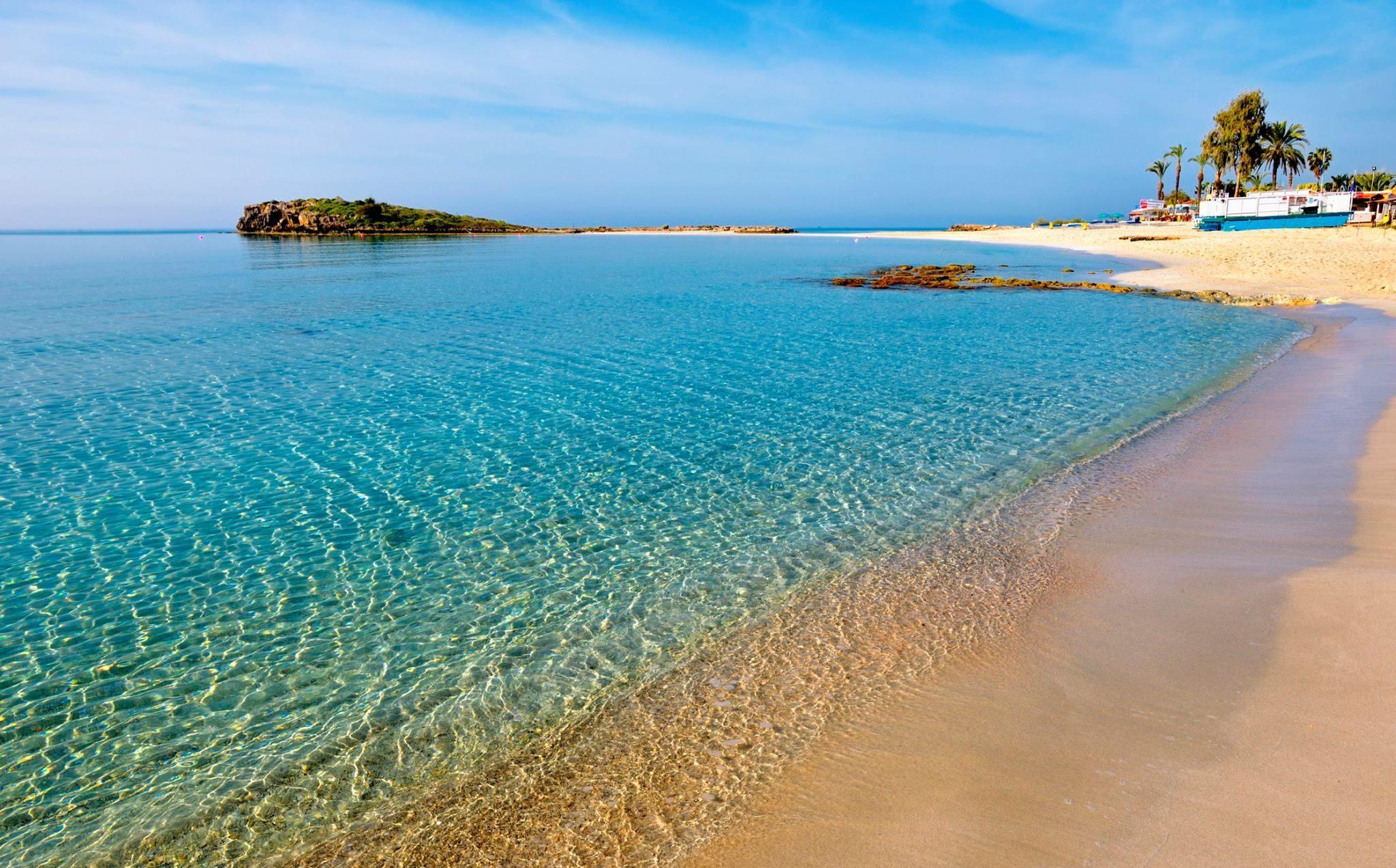 Пляжи острова Кипр
