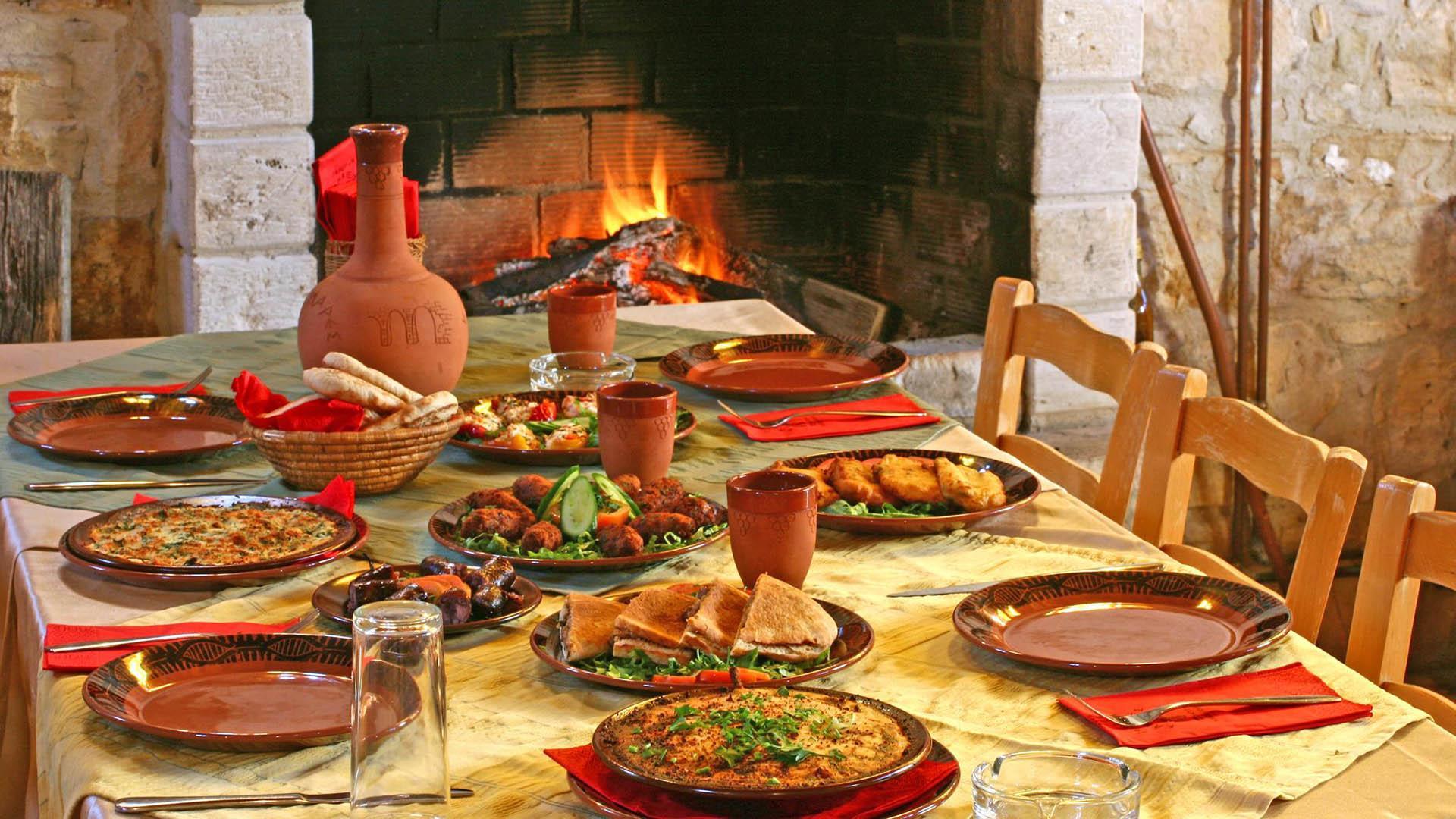 Местная кухня на Кипре