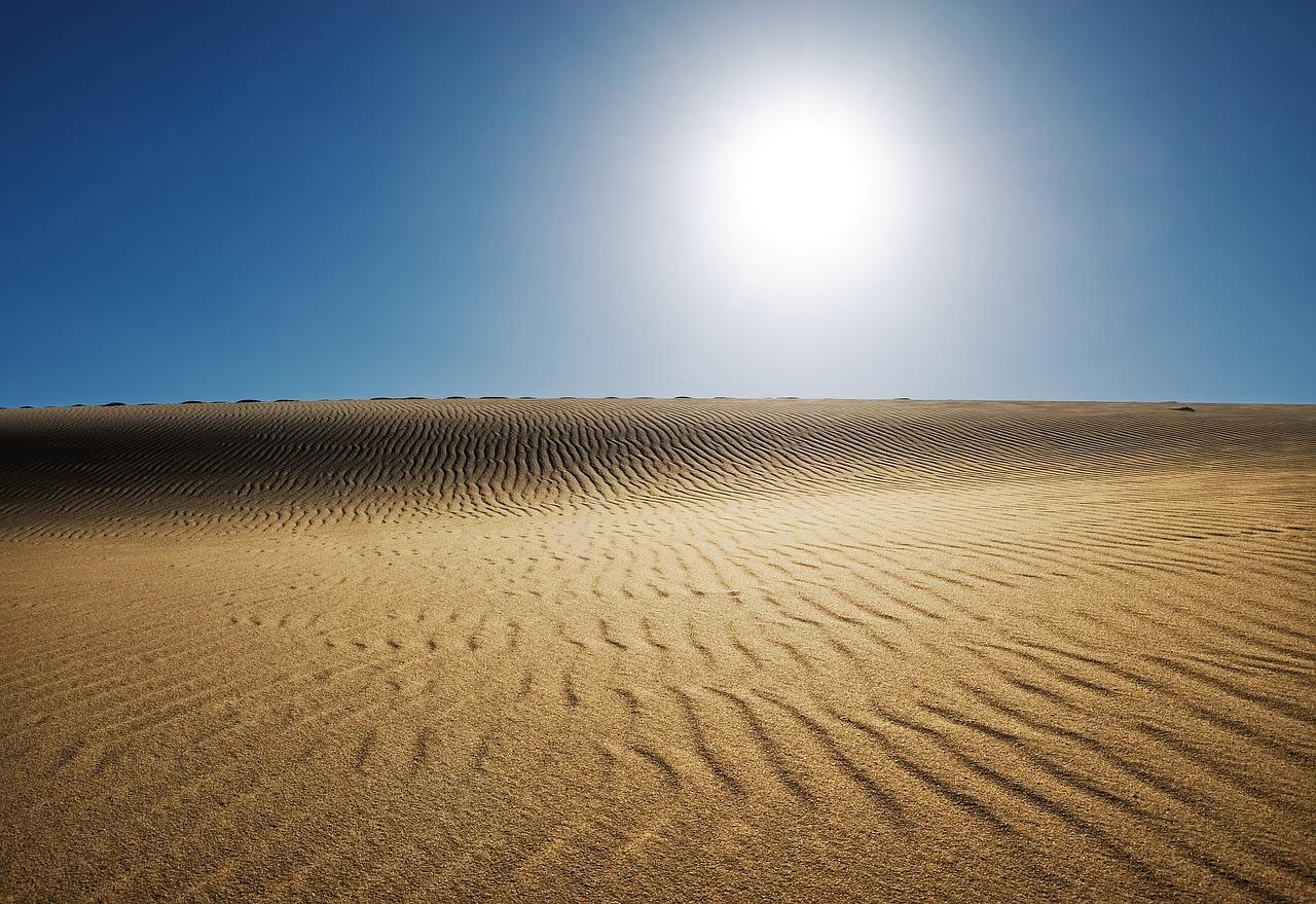 Жаркий климат Египта