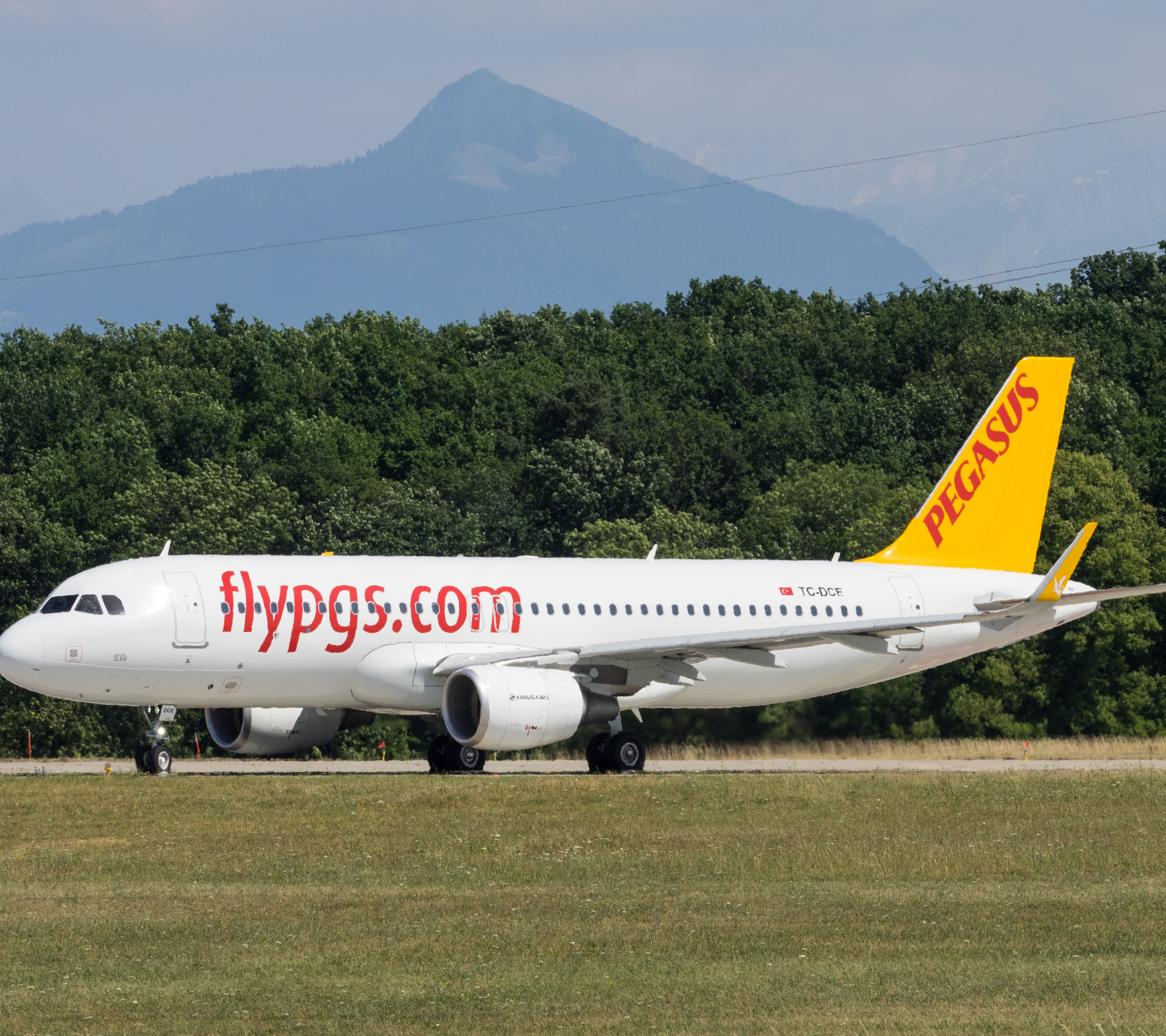 Самолет авиакомпании Pegasus