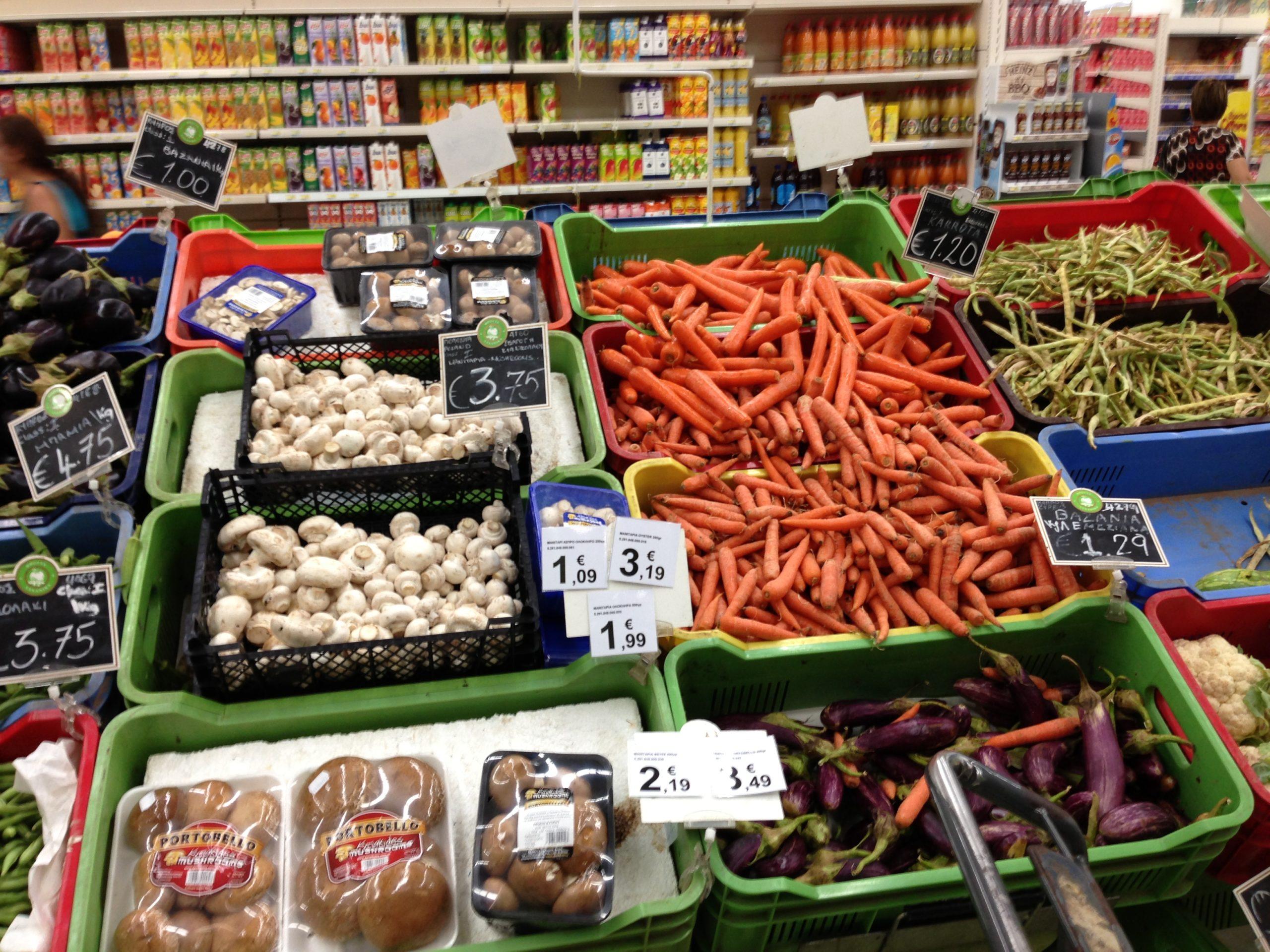 Сколько стоят продукты на Кипре