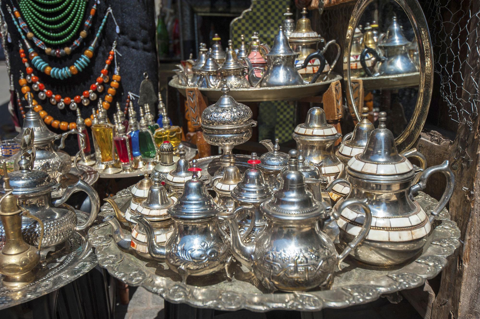 Чайники в Марокко