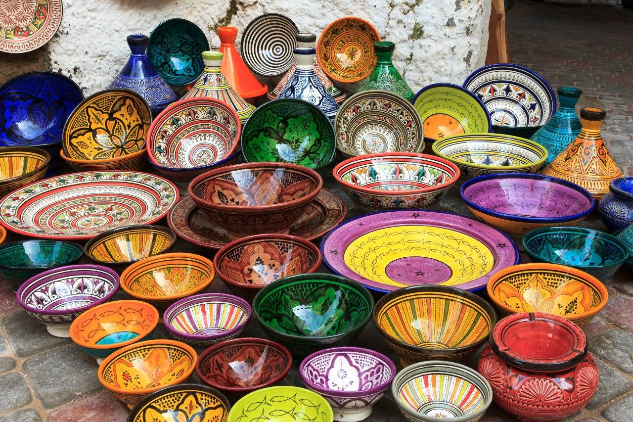 Керамика из Марокко