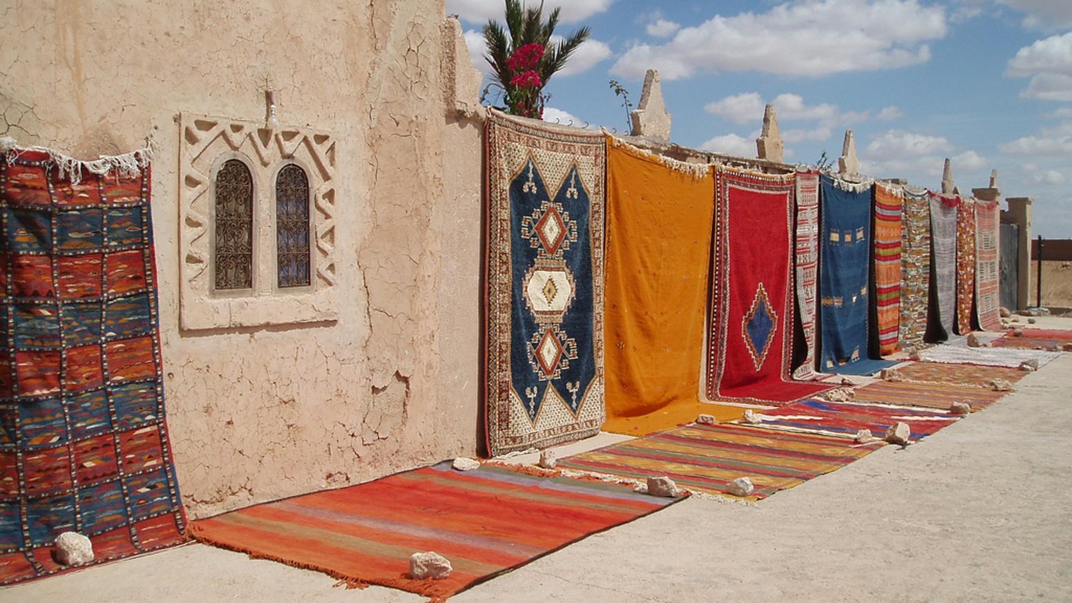 Ковры в Марокко