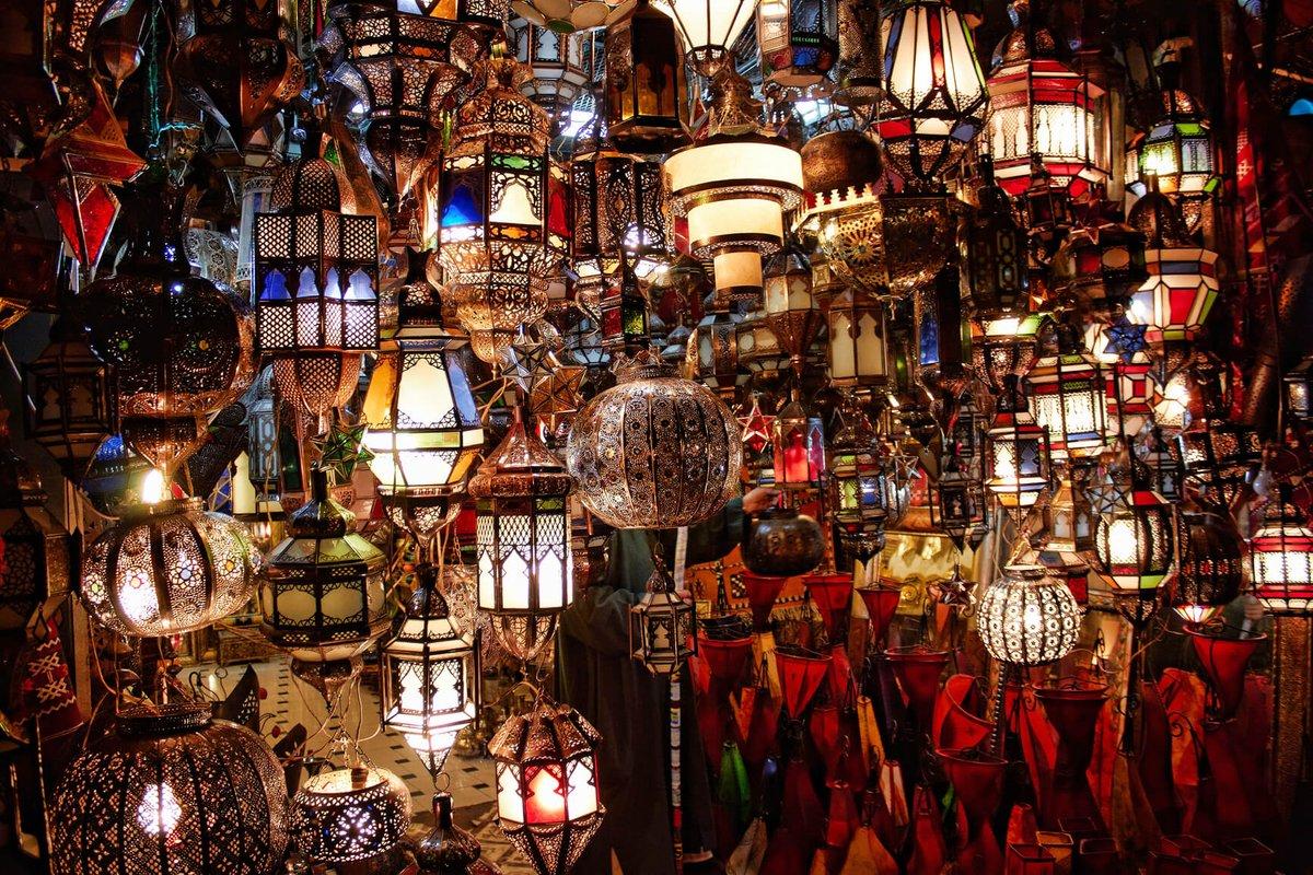 Лампы в Марокко