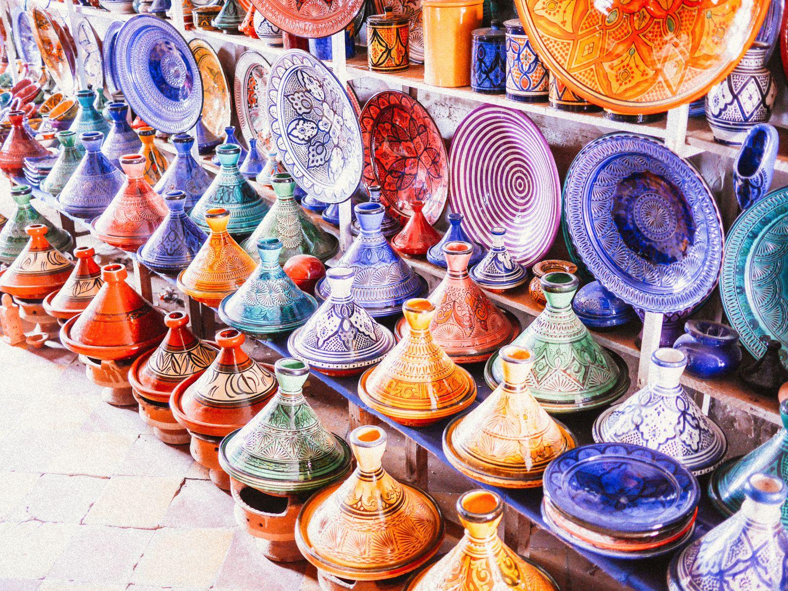 Посуда в Марокко