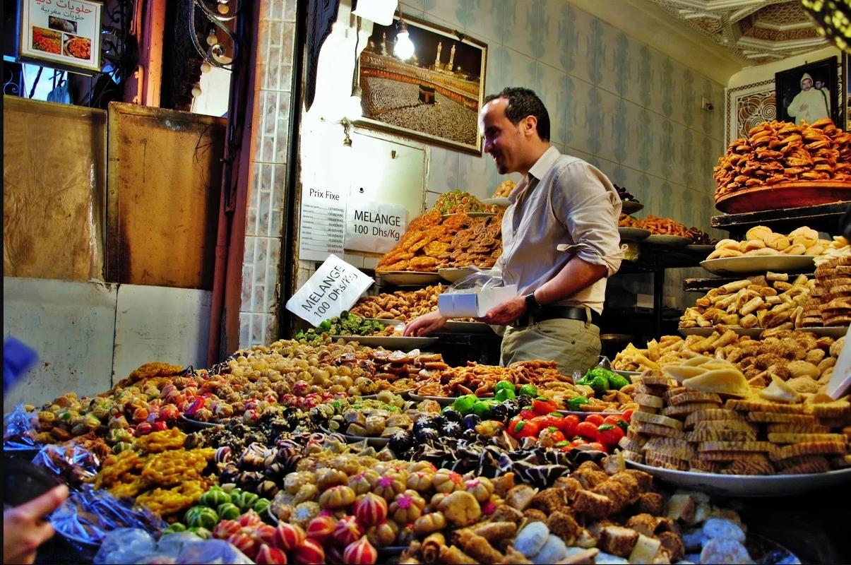 Продукты питания в Марокко