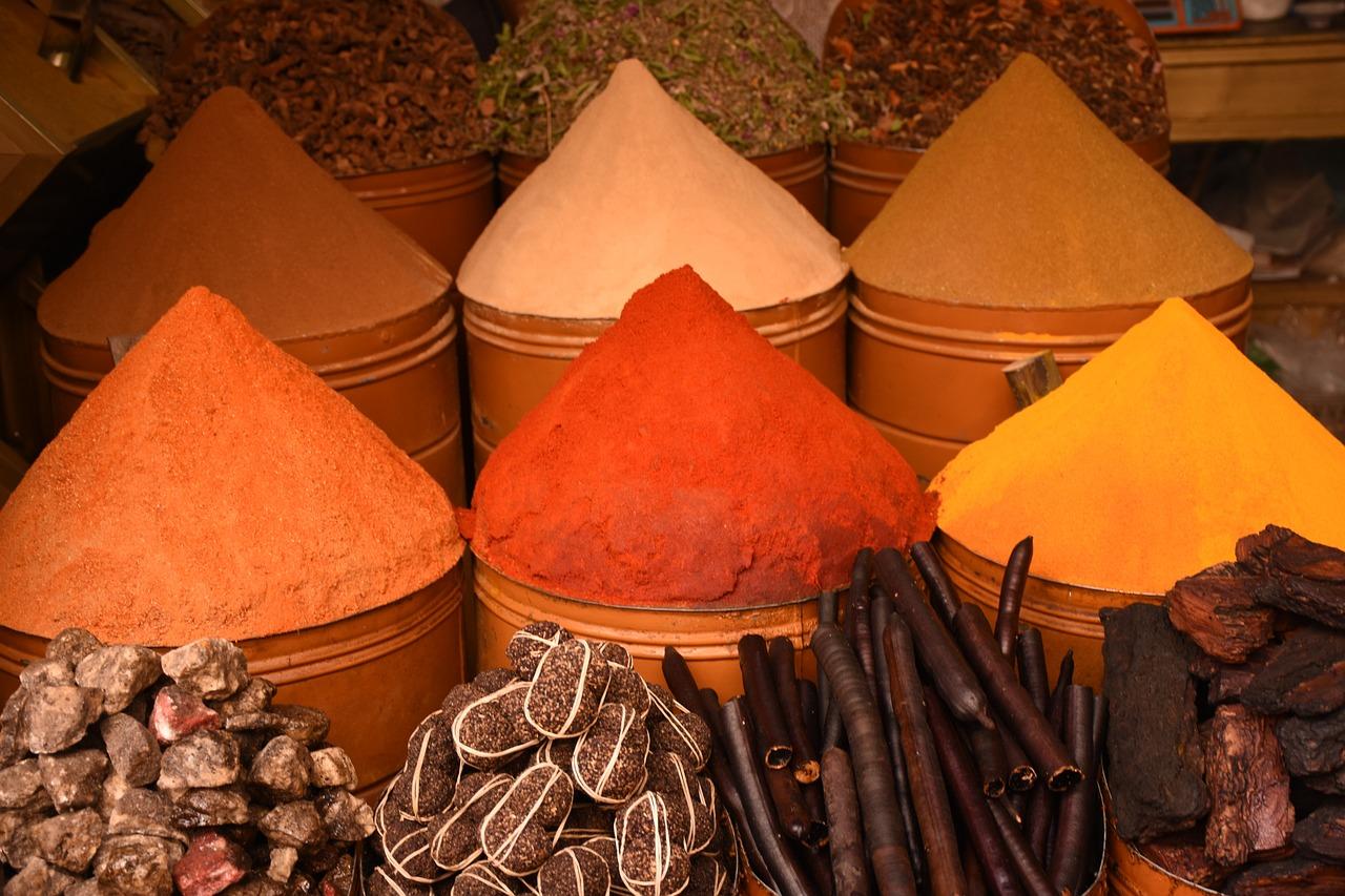 Специи в Марокко