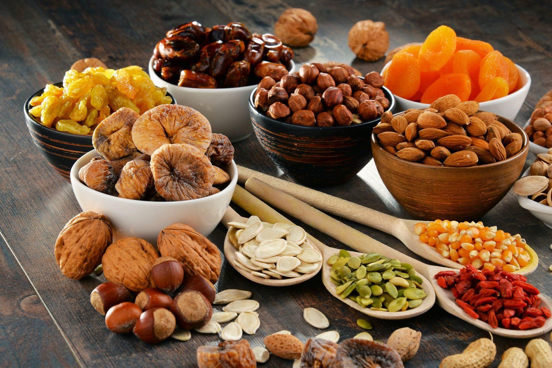 Сухофрукты и орехи в Марокко