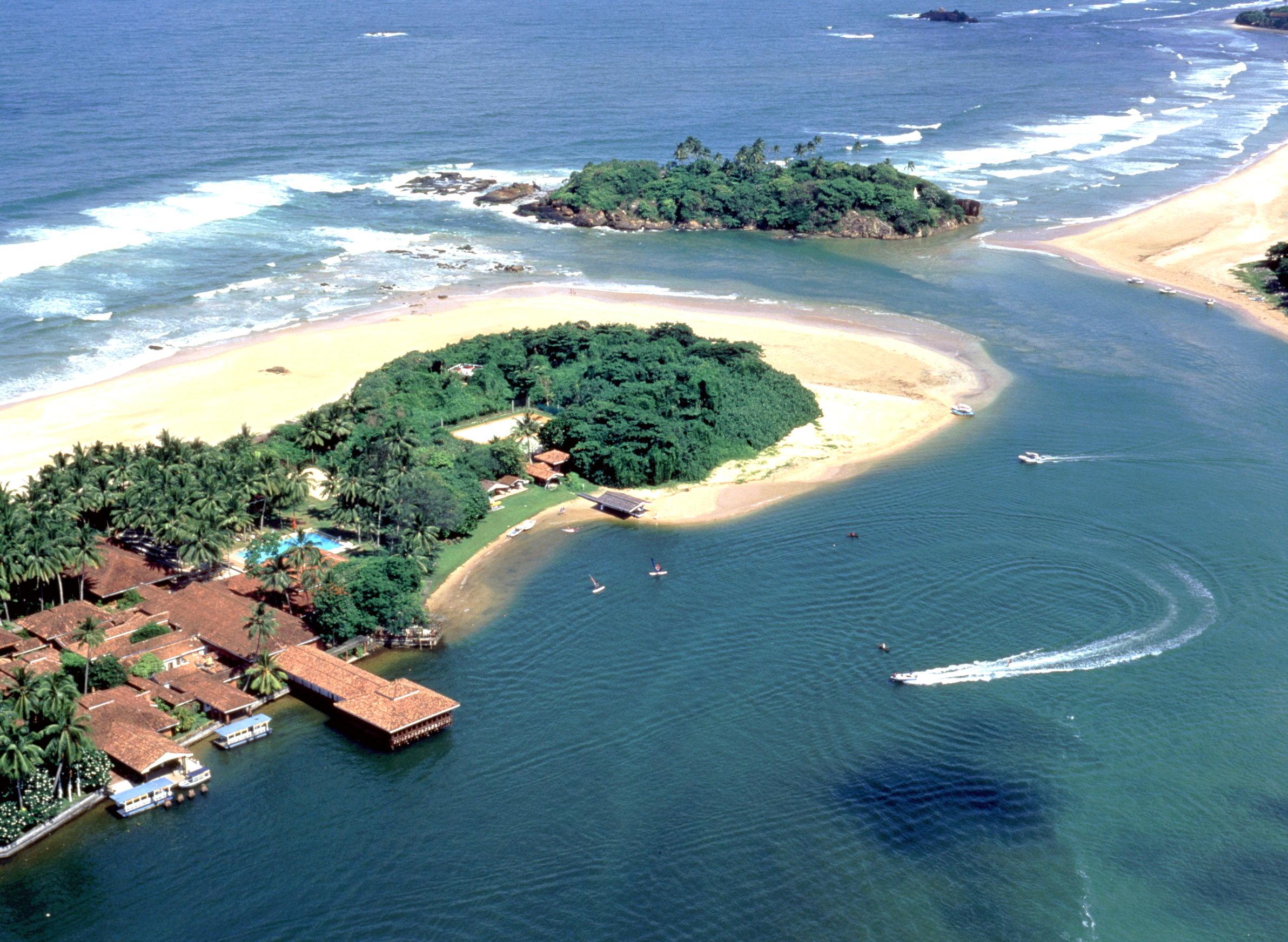 Пляж Бентота на Шри-Ланке