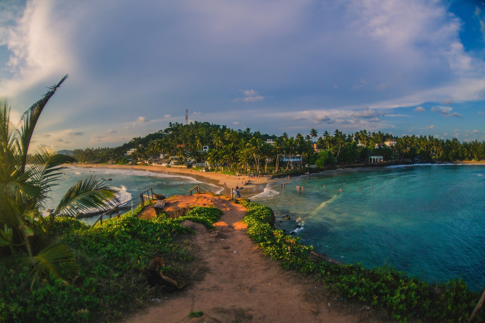 Пляж Мирисса на Шри-Ланке