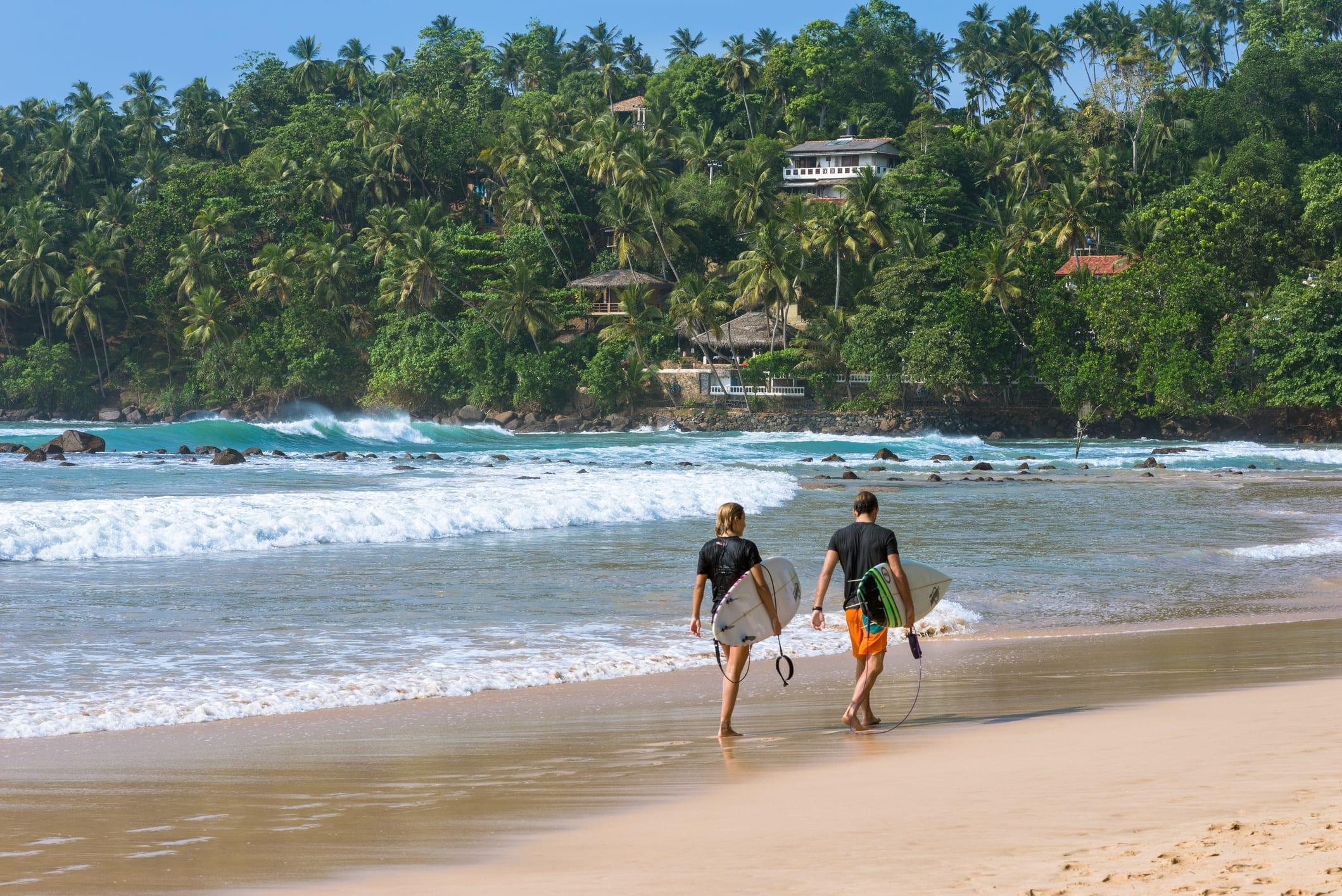 Где купаться на Шри-Ланке